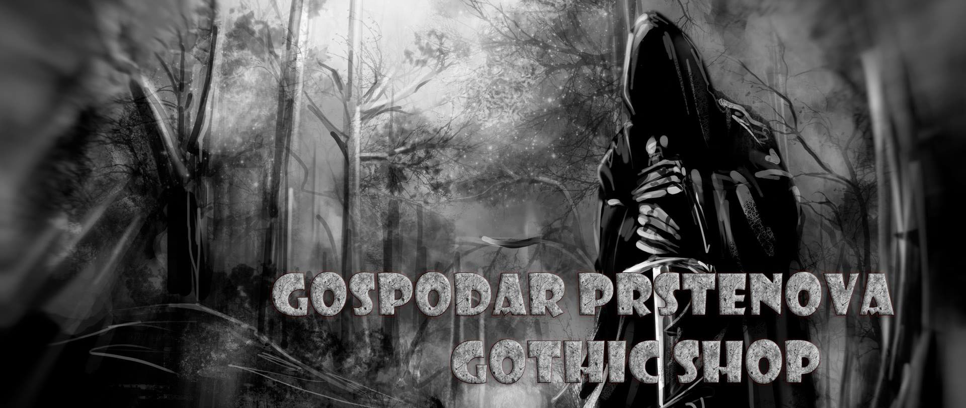Gospodar Prstenova gothic rock shop