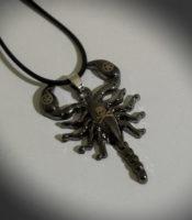 scorpio ogrlica škorpion