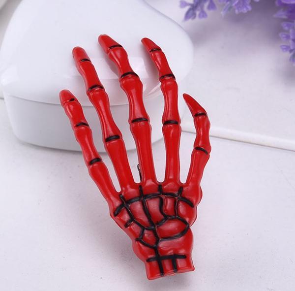 Skeleton hand ukosnica (crvena)